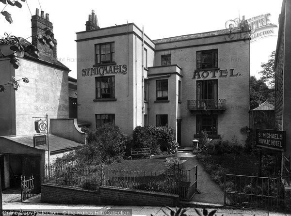 Lyme Regis St Michael S Private Hotel 1925