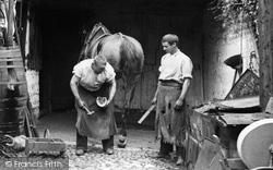The Blacksmith 1909, Lyme Regis