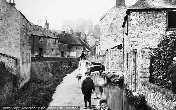 Photo of Lyme Regis, The Lynch 1892
