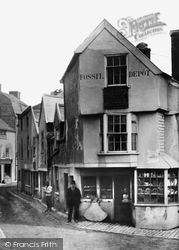 Lyme Regis, The Old Fossil Shop c.1891