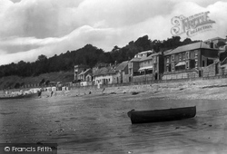 Lyme Regis, The Parade And Sands 1922
