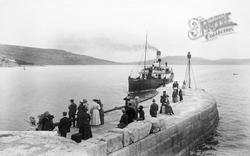 Victoria Pier 1912, Lyme Regis