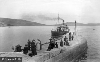 Lyme Regis, Victoria Pier 1912