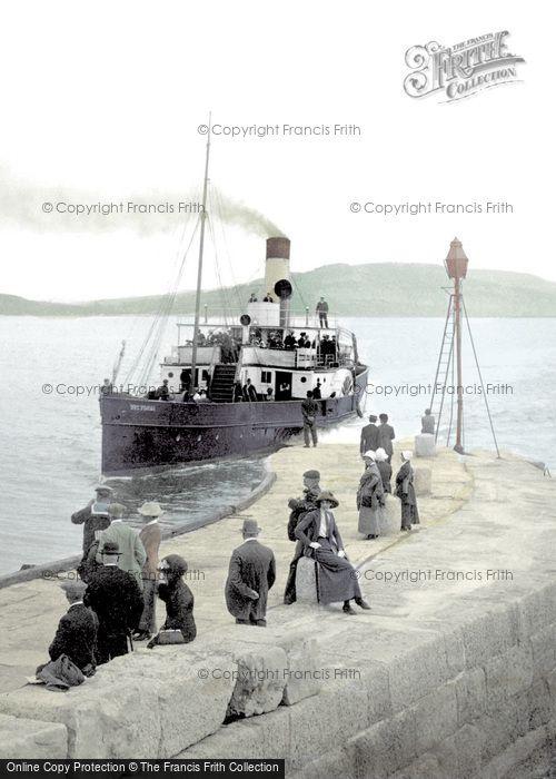 Photo of Lyme Regis, Victoria Pier 1912