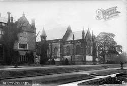 Lymm, Arley Hall Chapel 1897