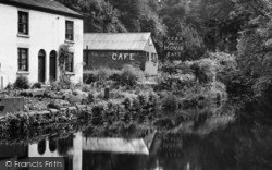 Lymm, Café At The Dingle c.1950