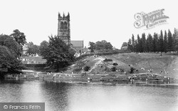 Lakeside c.1950, Lymm