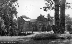 Lymm, Lymm Hall c.1955
