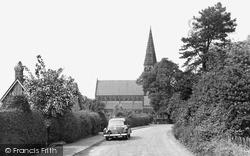 Oughtrington Lane c.1950, Lymm