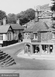 Lymm, Shop In The Square c.1960