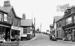 Lymm, The Bridge c.1955