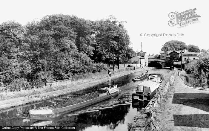 Photo of Lymm, The Bridgewater Canal c.1960