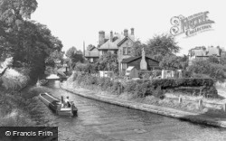 Lymm, The Bridgewater Canal c.1960