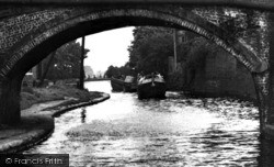 Lymm, The Canal c.1955