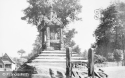Lymm, The Cross And Stocks c.1950