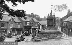 Lymm, The Cross c.1955