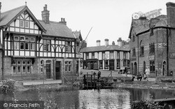 Lymm, The Dingle c.1955