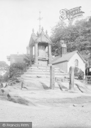 Lymm, The Village Cross And Stocks 1897