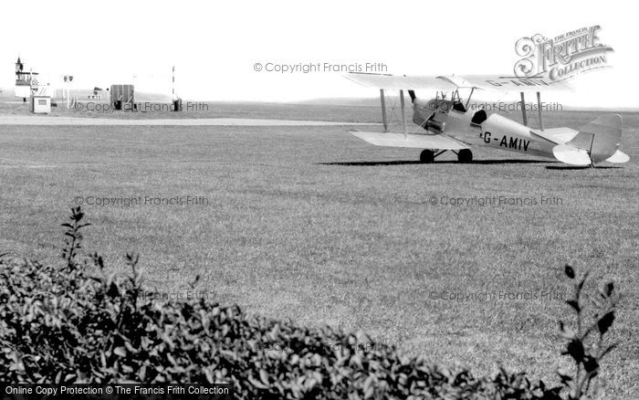 Photo of Lympne, Airport c1955
