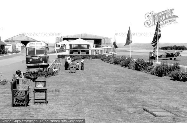 Photo of Lympne, Airport c.1955