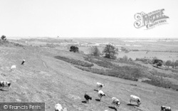 Lympne, General View c.1955