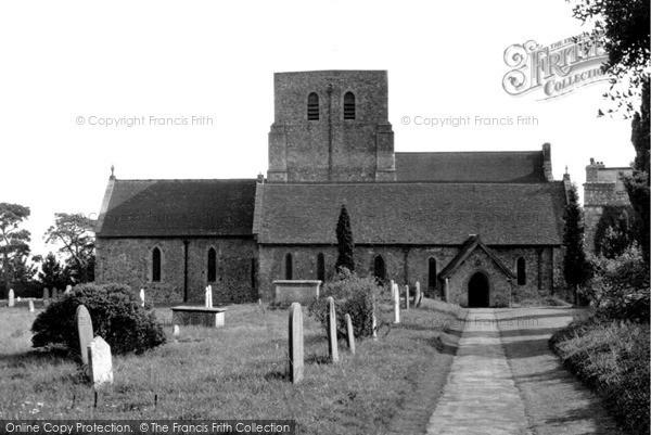 Photo of Lympne, St Stephen's Church c.1955