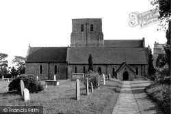 Lympne, St Stephen's Church c.1955