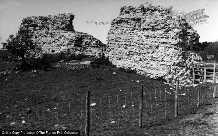 Photo of Lympne, Stutfall Castle 1954