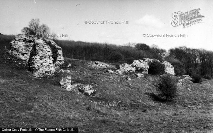 Photo of Lympne, Stutfall Castle 1954