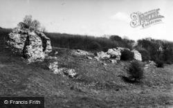 Lympne, Stutfall Castle 1954
