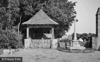 Lympne, the Lychgate and War Memorial c1955
