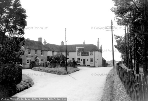 Photo of Lympne, Village c1955