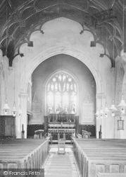 Church Interior 1896, Lympstone