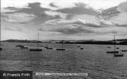Evening On The River Exe c.1960, Lympstone
