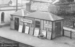 Porter At S. W. Railway Station 1904, Lympstone