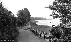Sowden End, The River Exe c.1960, Lympstone