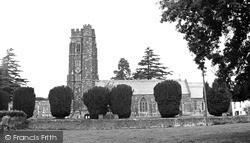 St Mary's Church c.1960, Lympstone