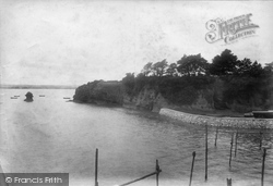 The Cliff And Boat Shelter 1904, Lympstone