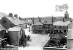 Lympstone, The Village Square 1904