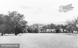 View From St Peter's School, Harefield House 1960, Lympstone