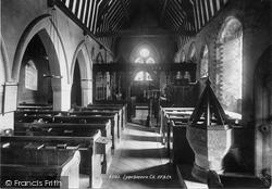 Lynchmere, Church Interior 1899, Linchmere