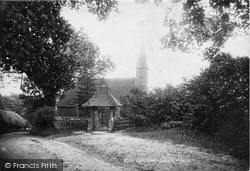 Lynchmere, St Peter's Church 1899, Linchmere