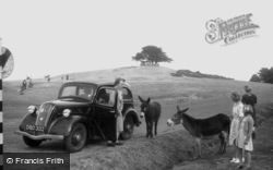 Lyndhurst, Bolton's Bench c1955