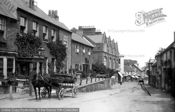 Photo of Lyndhurst, Crown Hotel 1890