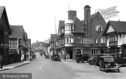 High Street And Stag Hotel 1934, Lyndhurst
