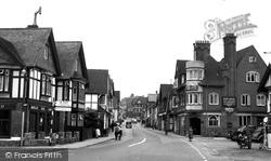 High Street c.1955, Lyndhurst