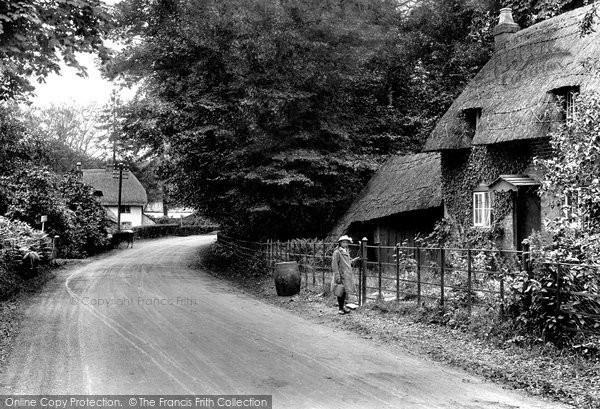 Photo of Lyndhurst, On Brockenhurst Road 1918