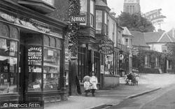Shop In The High Street 1908, Lyndhurst