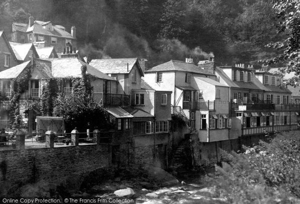 Photo of Lynmouth, By The River Lyn 1932