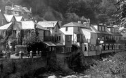 Lynmouth, By The River Lyn 1932